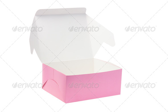 Open Paper Box - Stock Photo - Images