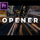 Logo Reveal - Strips Opener // Premiere Pro - VideoHive Item for Sale