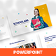 Schoolars – Education Course & Learning PowerPoint Template