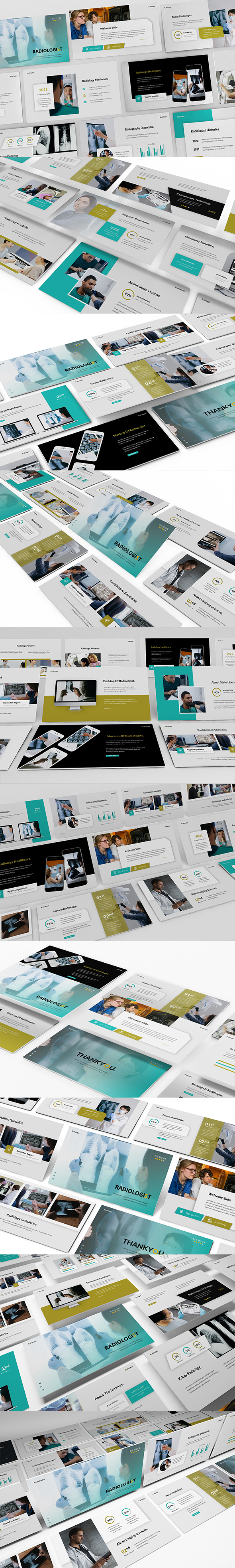 Radiology Diagnostic Powerpoint Presentation Template