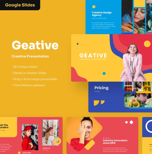 Geative - Creative Google Slides Presentation