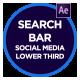 Social Media Search Bar - VideoHive Item for Sale
