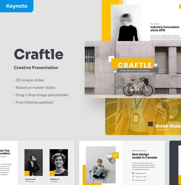 Craftle - Creative Keynote Presentation
