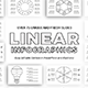 Linear Infographics PowerPoint Template Diagrams