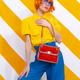 Retro Model holding bag - PhotoDune Item for Sale