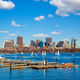 Boston skyline over the Charles River - PhotoDune Item for Sale