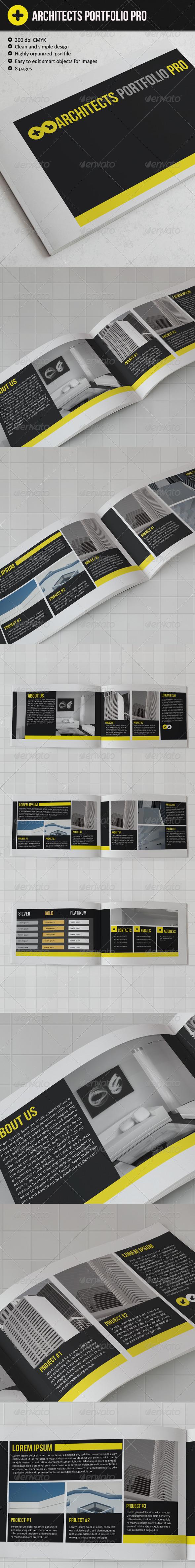 Architects Portfolio Pro - Portfolio Brochures