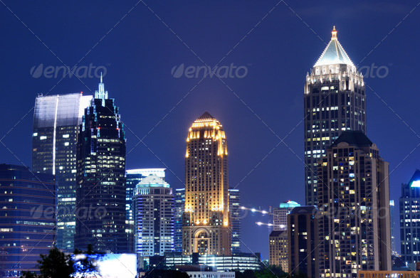 Midtown Atlanta - Stock Photo - Images