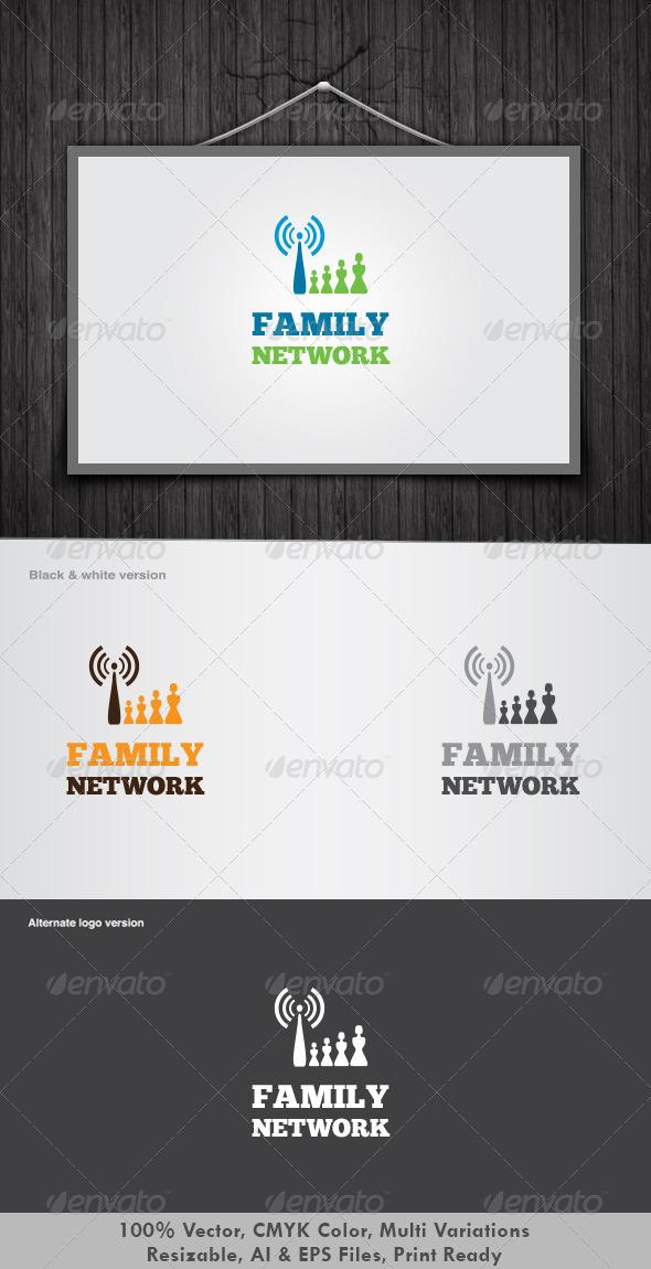 Family Network Logo - Humans Logo Templates