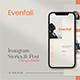 Evenfall Instagram Template