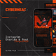 Cyberheat Instagram Template