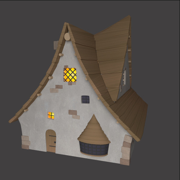 Magical House - 3DOcean Item for Sale