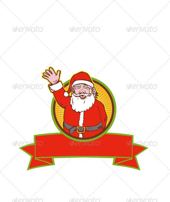 Santa Claus Father Christmas Cartoon - Christmas Seasons/Holidays