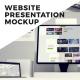 Website Presentation Mockup - VideoHive Item for Sale