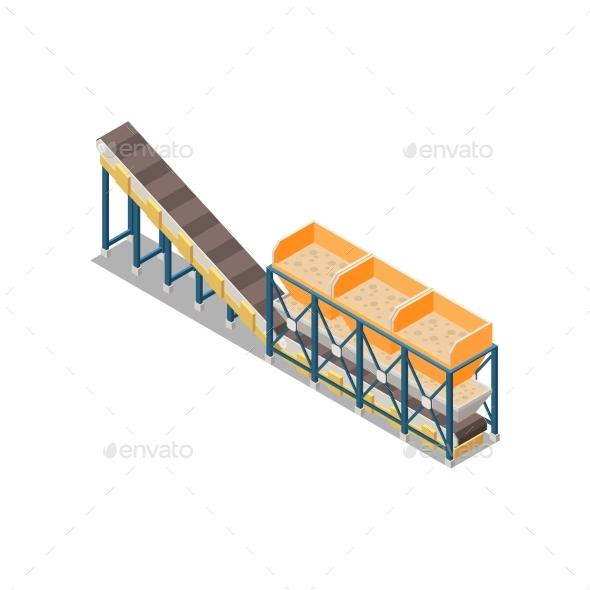 Concrete Production Conveyor Composition