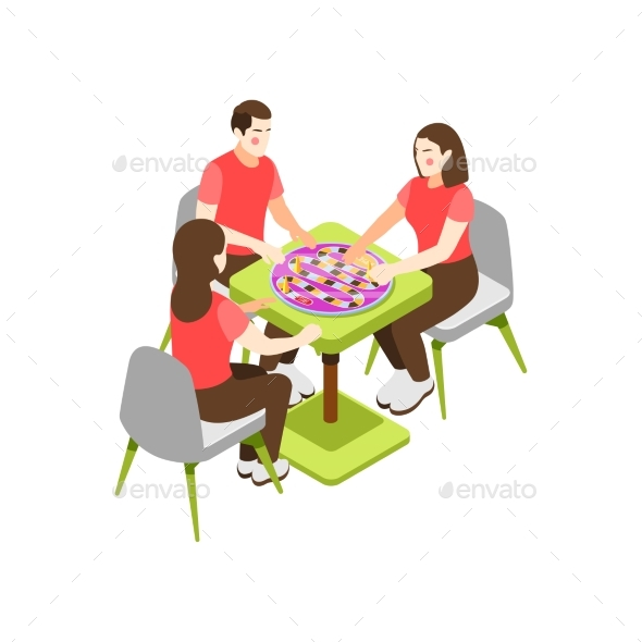 Friends Board Game Composition