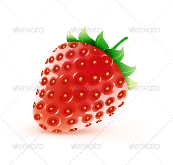 Sweet strawberry - Food Objects