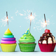 Colorful celebration cupcakes - PhotoDune Item for Sale