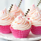 Plate of pink cupcakes - PhotoDune Item for Sale