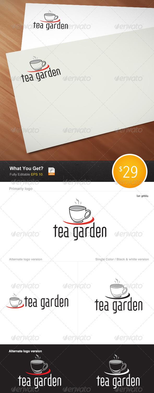 Tea Garden Logo - Letters Logo Templates