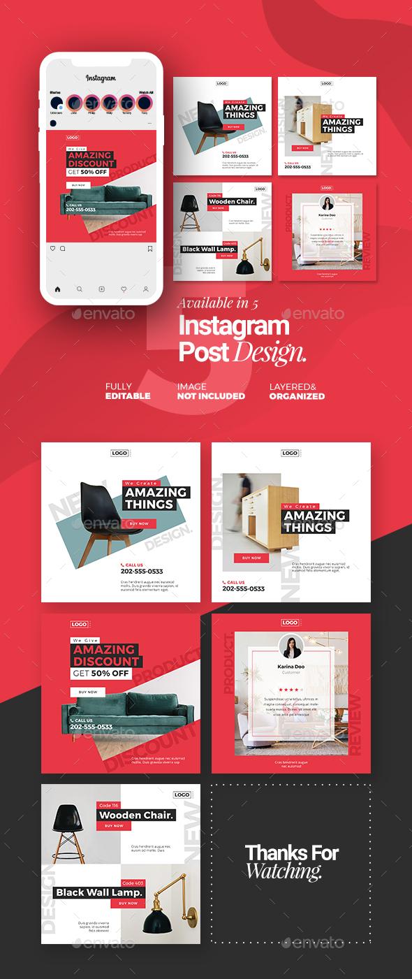 Furniture Instagram Post