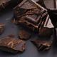 Pieces of homemade broken dark chocolate - PhotoDune Item for Sale
