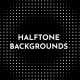Halftone Backgrounds - VideoHive Item for Sale