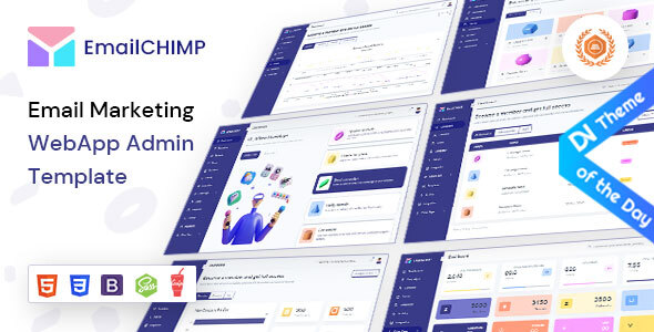 EmailChimp – VueJS, HTML Marketing Tool Admin Template