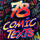 Arcade Comic Texts FX Pack - VideoHive Item for Sale
