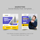 Marketing Social Media Post Banner Template