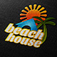 Beach House Logo  - GraphicRiver Item for Sale