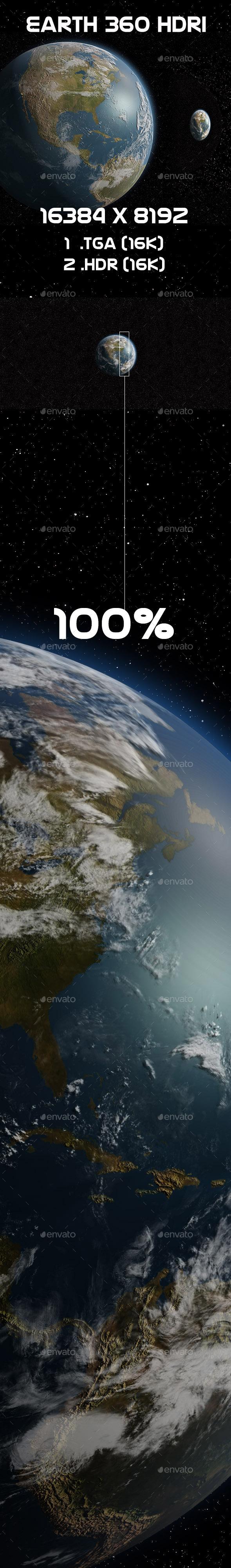 Earth 16K HDRI