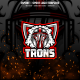 Trons E-sport and Sport Logo Template