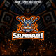 Samurai E-sport and Sport Logo Template