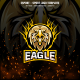 Eagle Head E-sport and Sport Logo Template