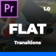 Minimal Flat Transition For Premiere Pro - VideoHive Item for Sale