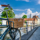 Bruges (Brugge) cityscape with bike - PhotoDune Item for Sale