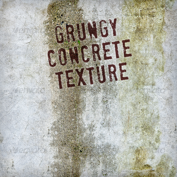 Grungy Concrete - Industrial / Grunge Textures