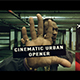 Cinematic Urban Opener - VideoHive Item for Sale