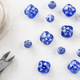 Blue Glass Beads with Wire and Wire Cutters - PhotoDune Item for Sale