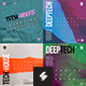 Tech-house Album Cover / Digital Flyer Templates Pack