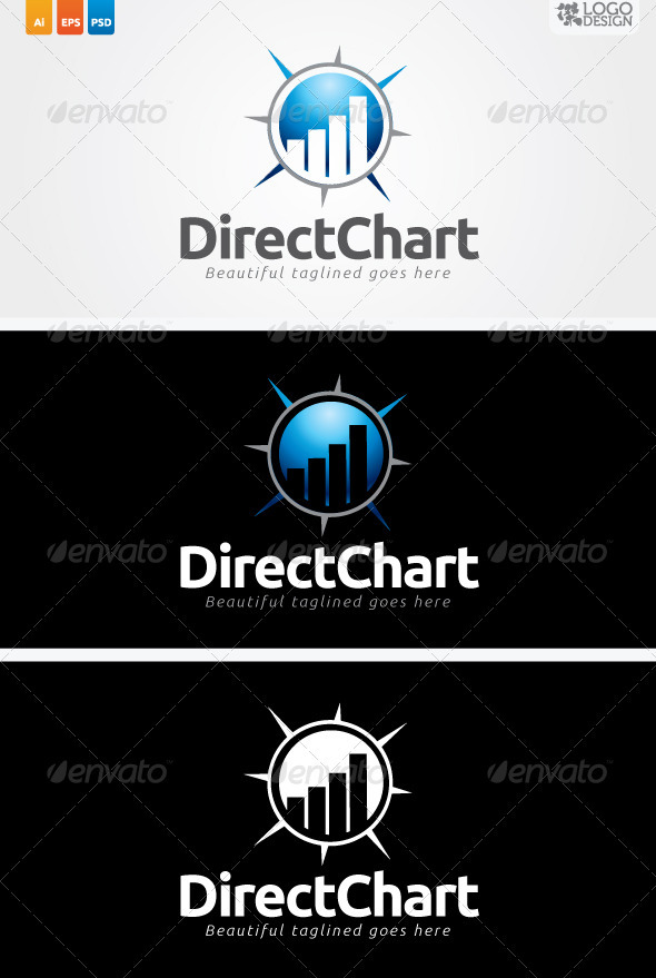 Direct Chart - Symbols Logo Templates