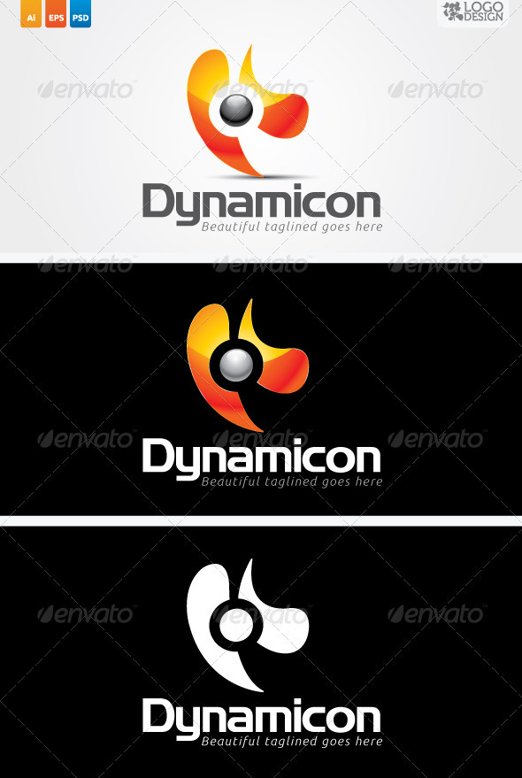 Dynamicon - Abstract Logo Templates
