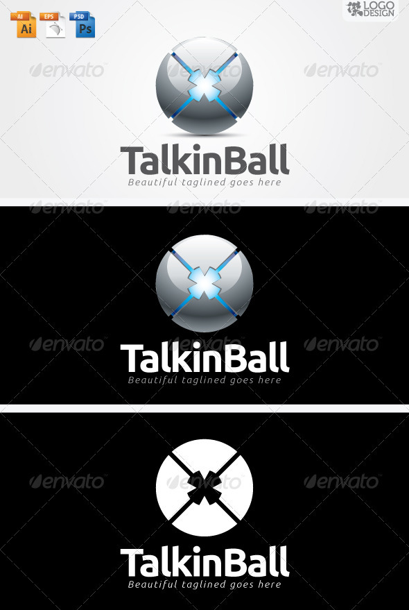 Talkin Ball - 3d Abstract