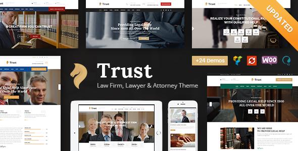Fabulous Trust Business - Lawyer and Attorney WordPress Theme