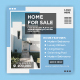 Home Sale Social Media Banner Post Template