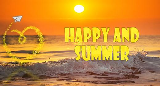 Happy, Summer, Pop