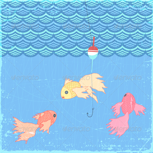 The Goldfish - Animals Characters
