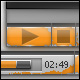 Web Media Player Skin 4.0 - GraphicRiver Item for Sale