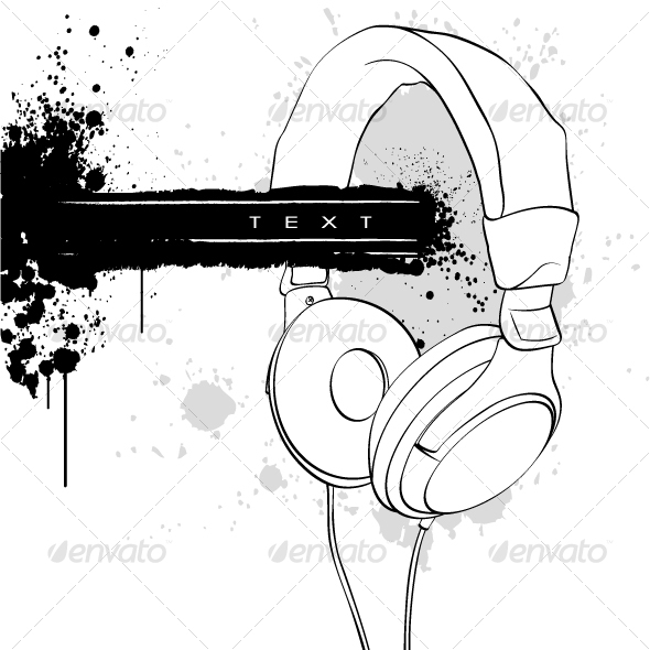 Headphones - Objects Vectors